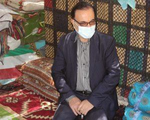 بازدید مدیرکل امور عشایر استان از منطقه عشایری باهر از توابع بخش زاغه
