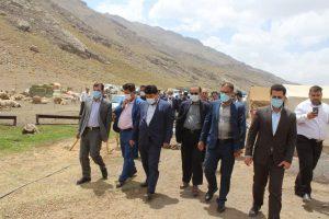 بازدید از منطقه عشایری گاماسیاب