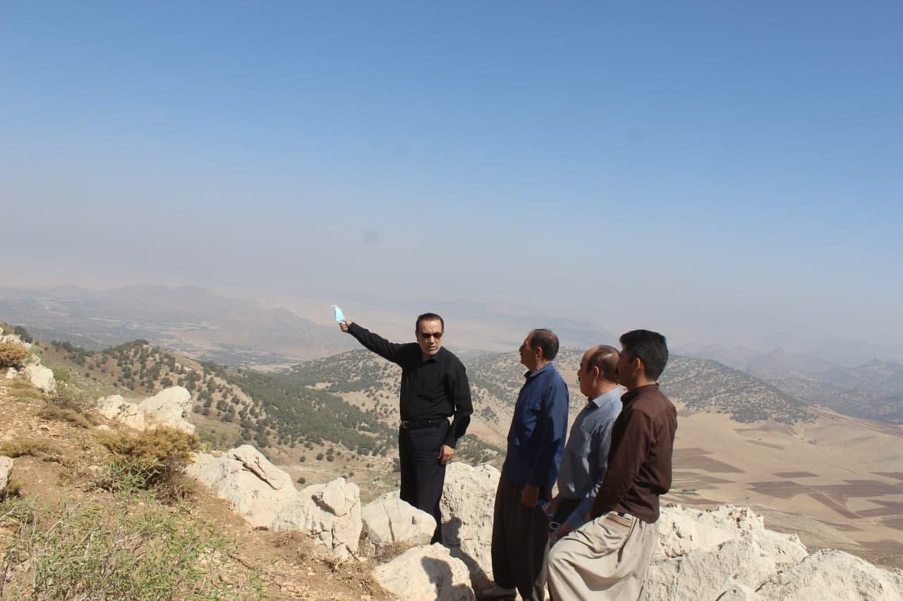 بازدید از منطقه کوه کلا
